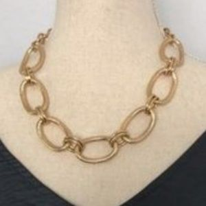 Bansari Gold Chain Link Necklace NWOT